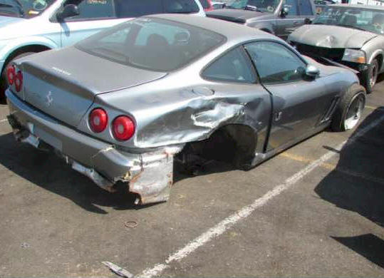 Repairable Ferrari Salvage Maranello V